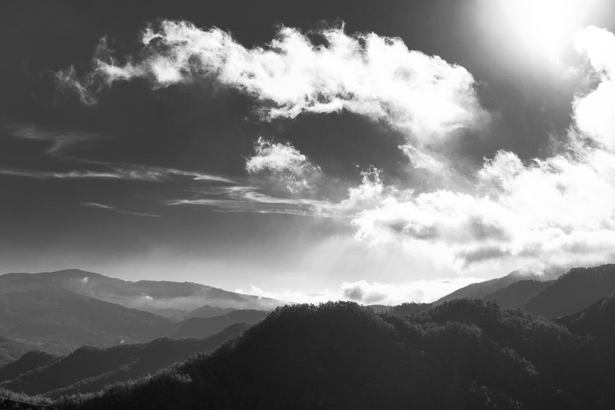 Mountain Sky Landscape #10136