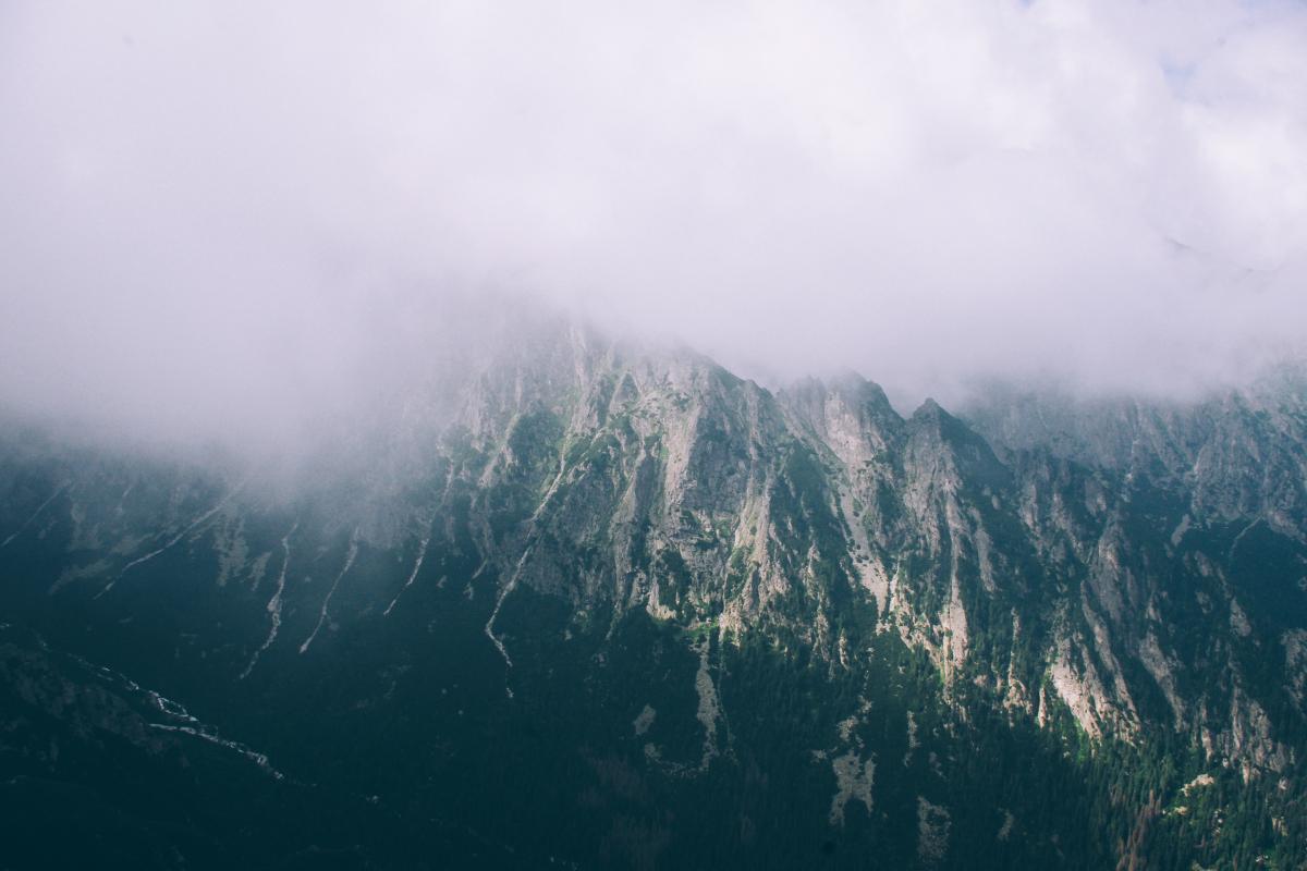Mountain Range Landscape #101547