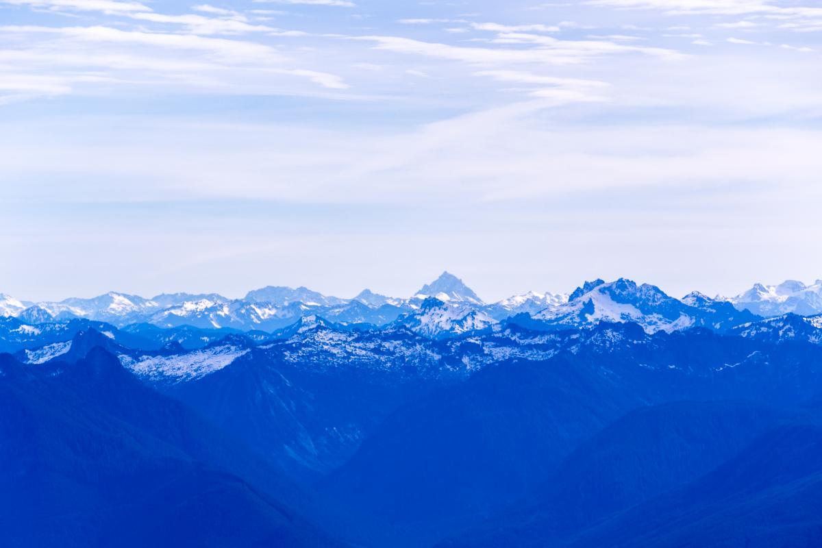 Glacier Snow Mountain #10194