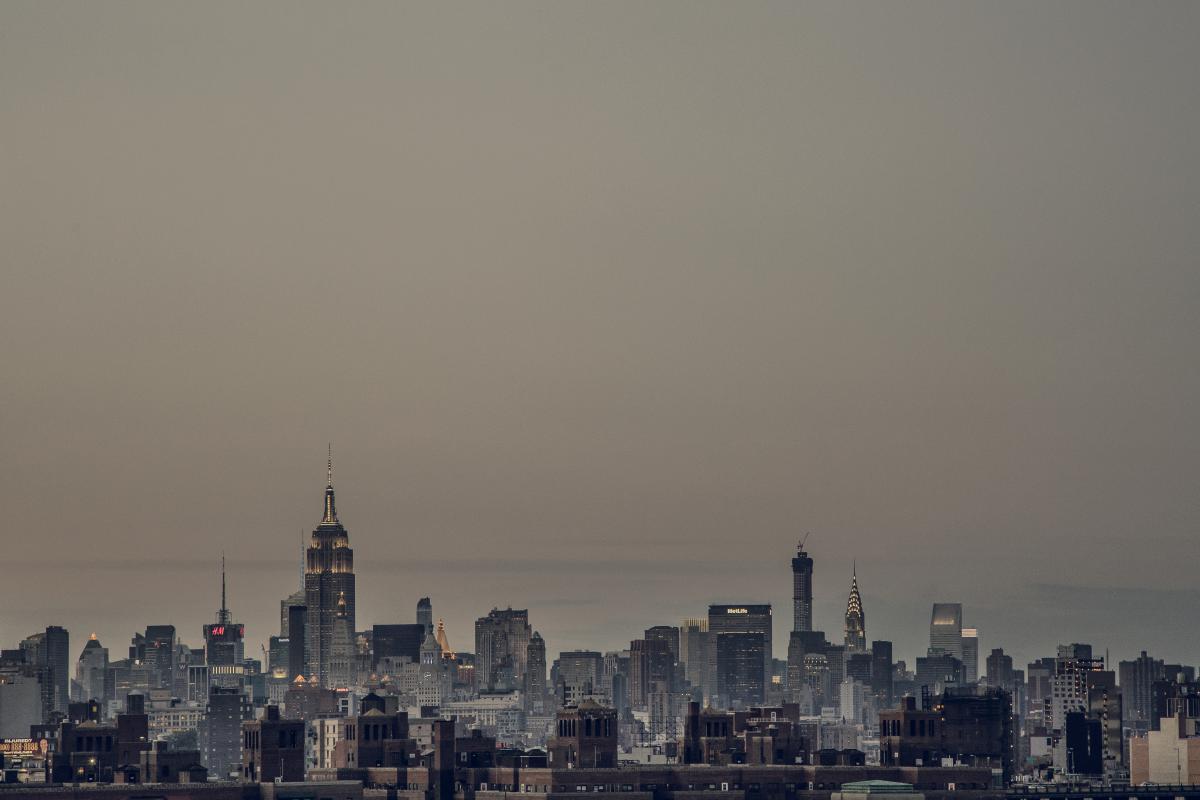 City Manhattan Skyline #10234