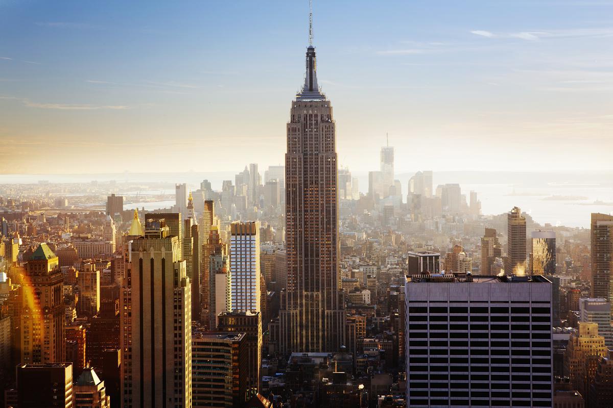 Manhattan City Skyscraper #10240