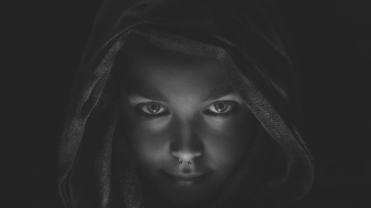 Black Portrait Face #10492