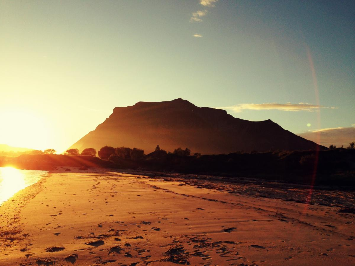 картинки пустыня рассвет время