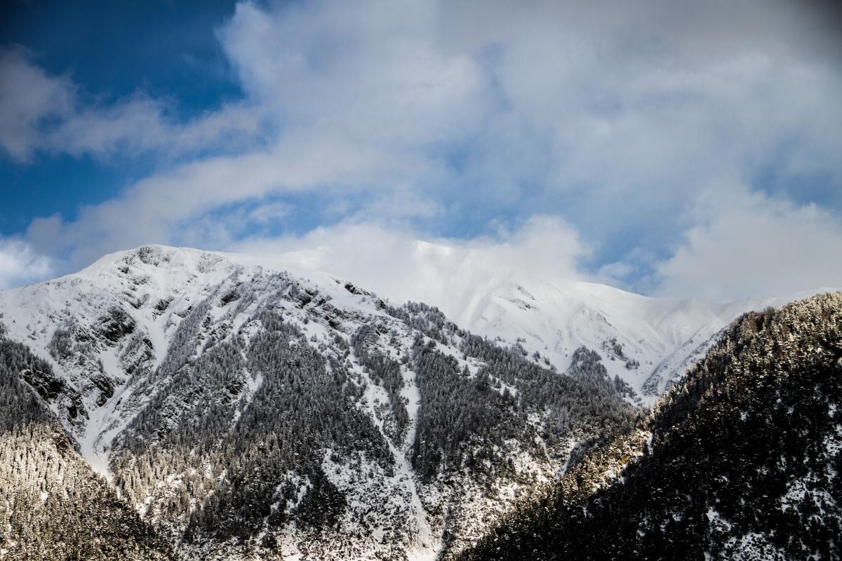 Mountain Snow Range #10802