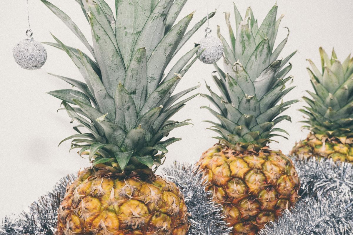Produce Pineapple Fruit #110350