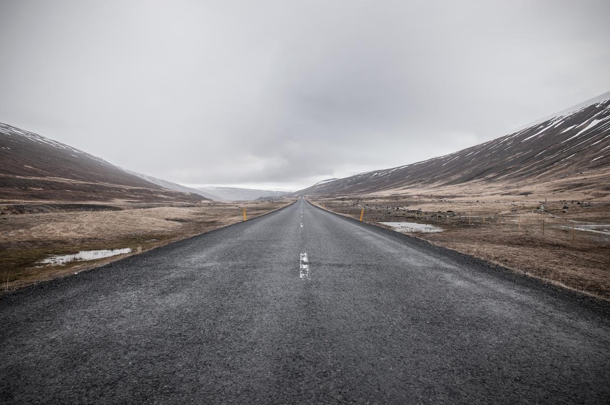 Road Asphalt Way #11090