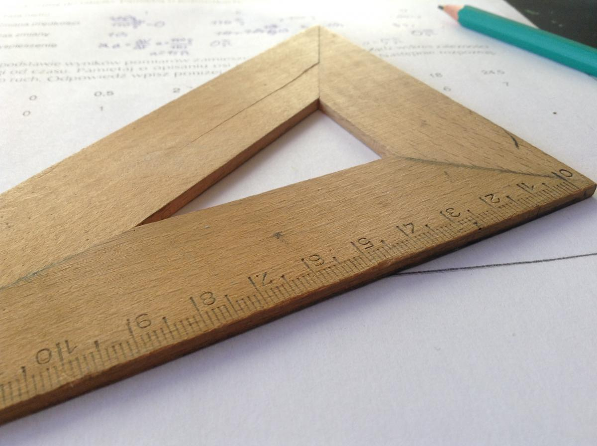 Rule Measuring stick Measuring instrument #11472