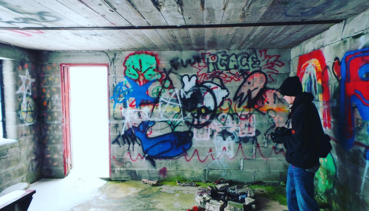 Graffito Decoration Aquarium #118140