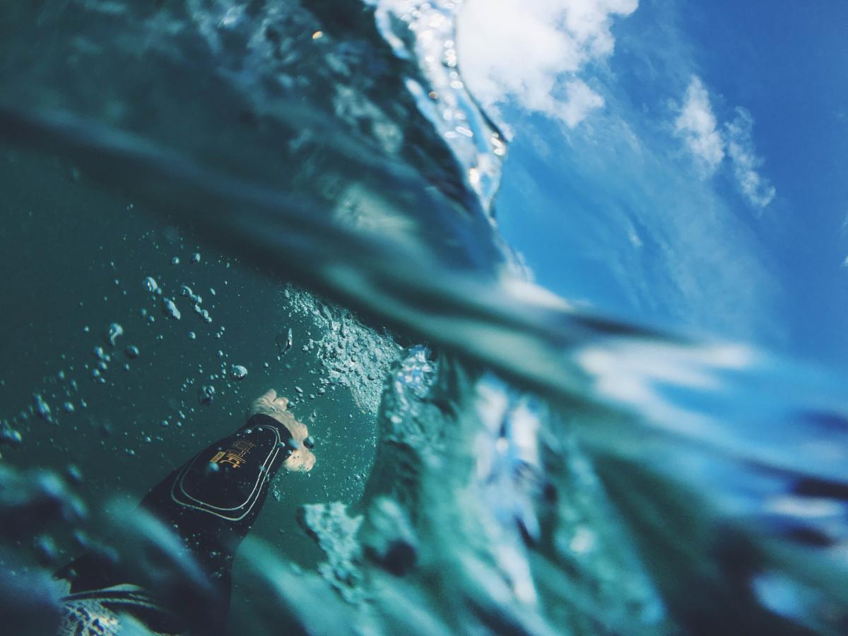 Water Scuba diver Sea #118991