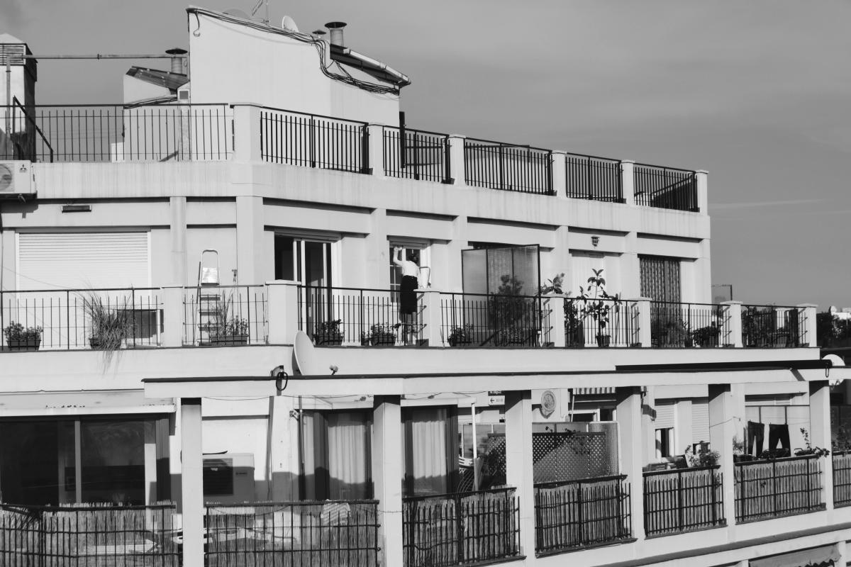 Architecture du bâtiment Balcon #119111