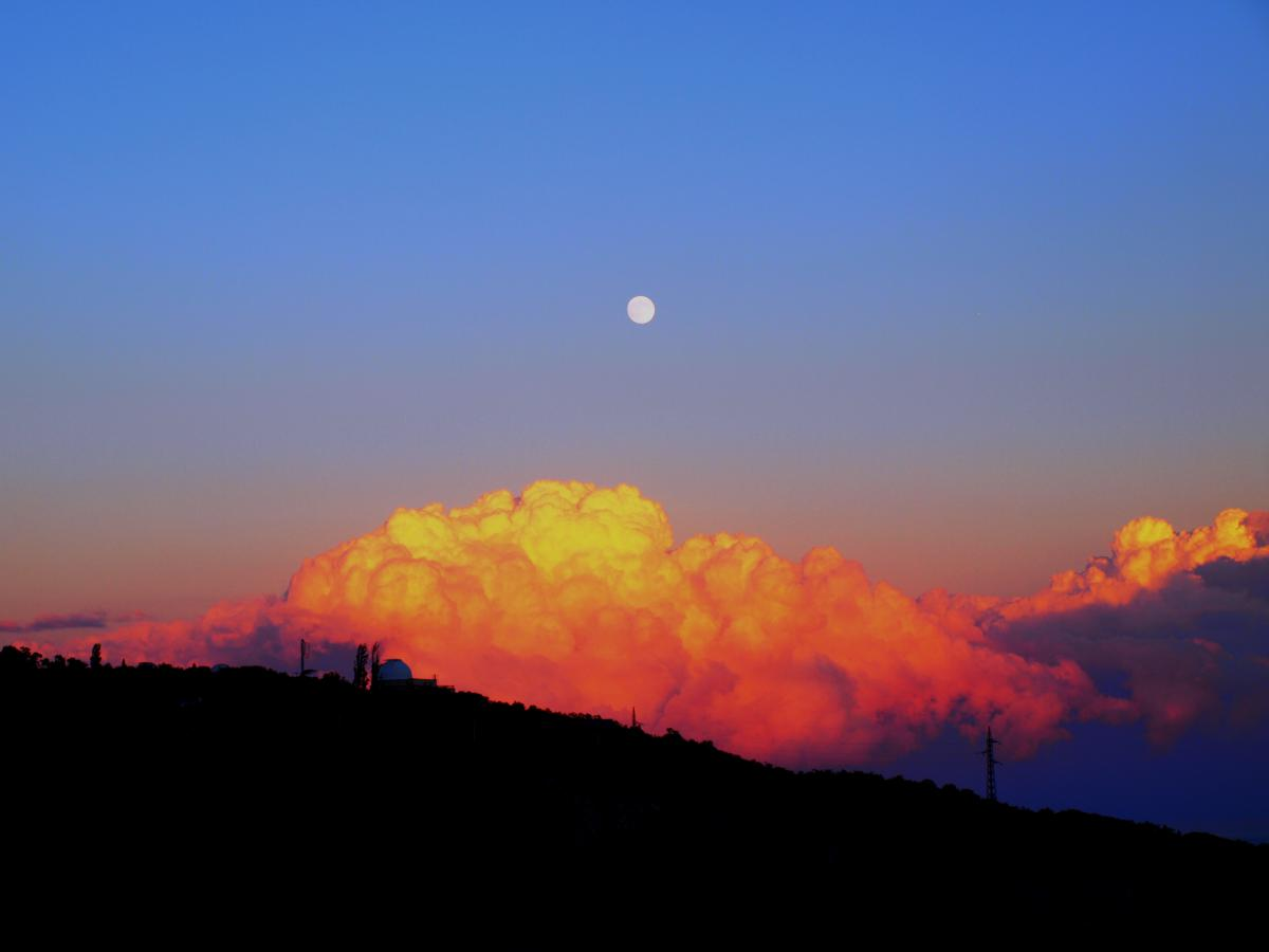 Sun Sky Sunset #12438
