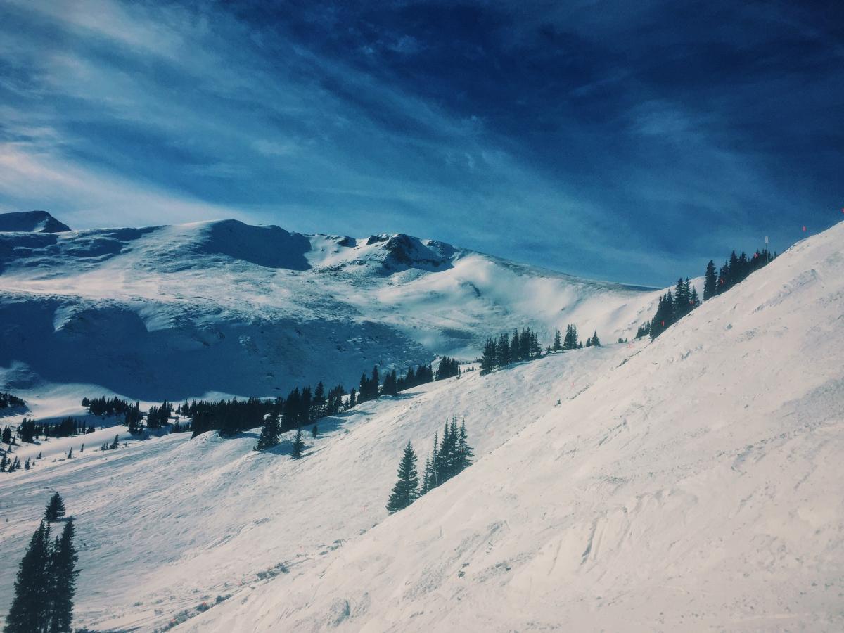 Mountain Slope Snow #125115