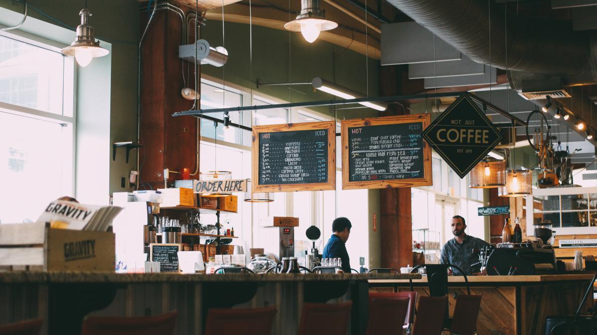 Restaurant Cafe Building #12889