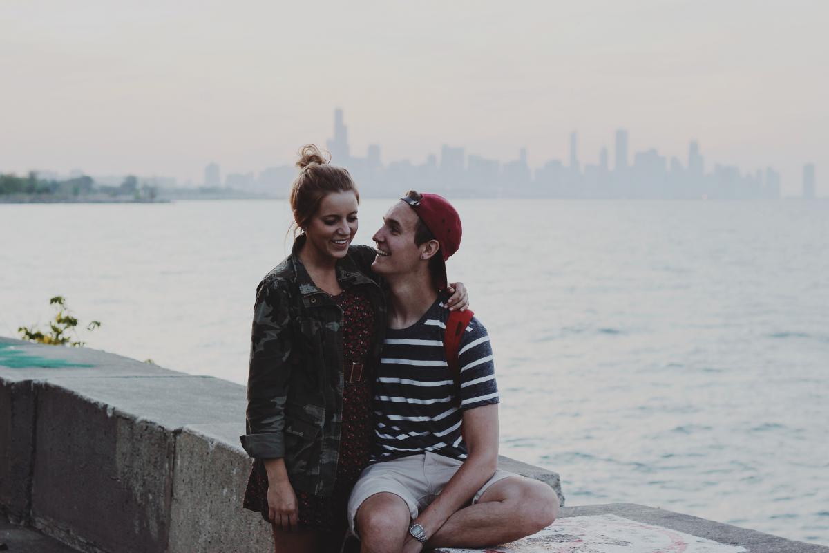 Beach Man Couple #13107