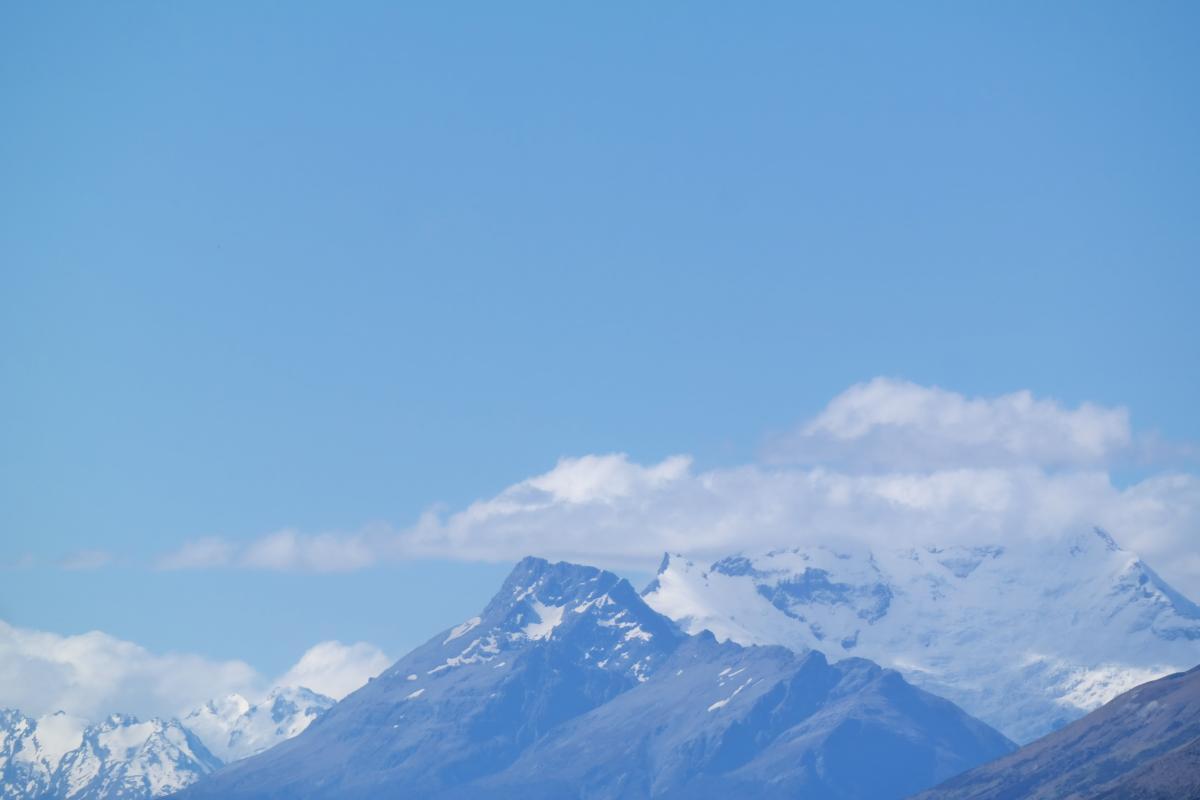 Mountain Snow Sky #131273