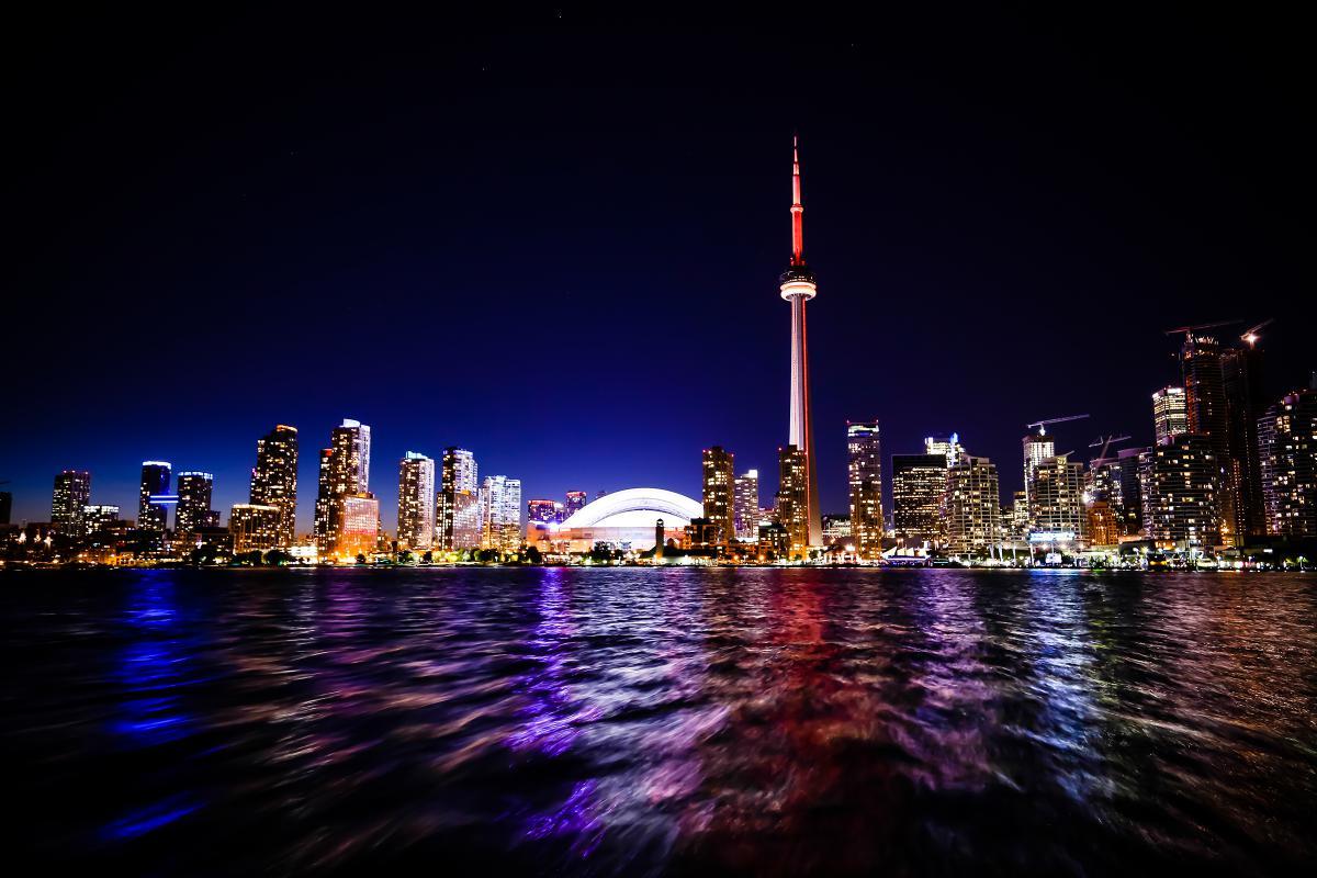 City Waterfront Cityscape #13231