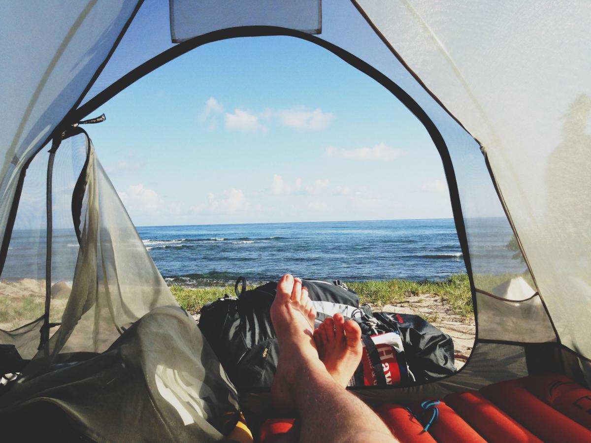Water Tent Sky #13415