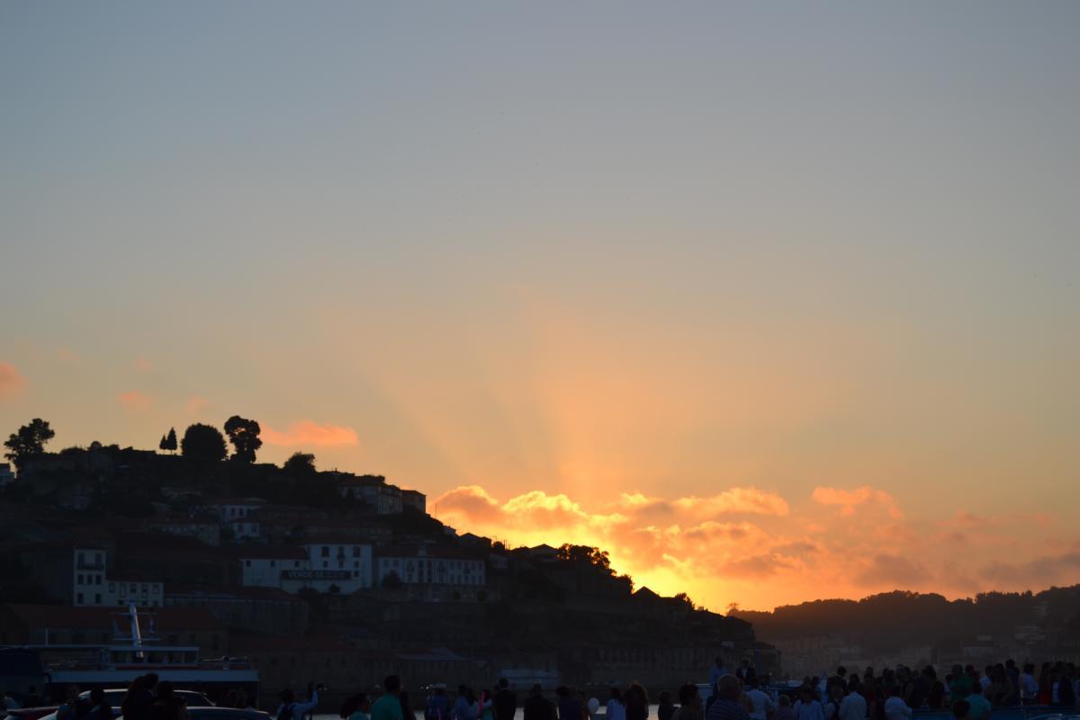 Sky Sunset Atmosphere #138519
