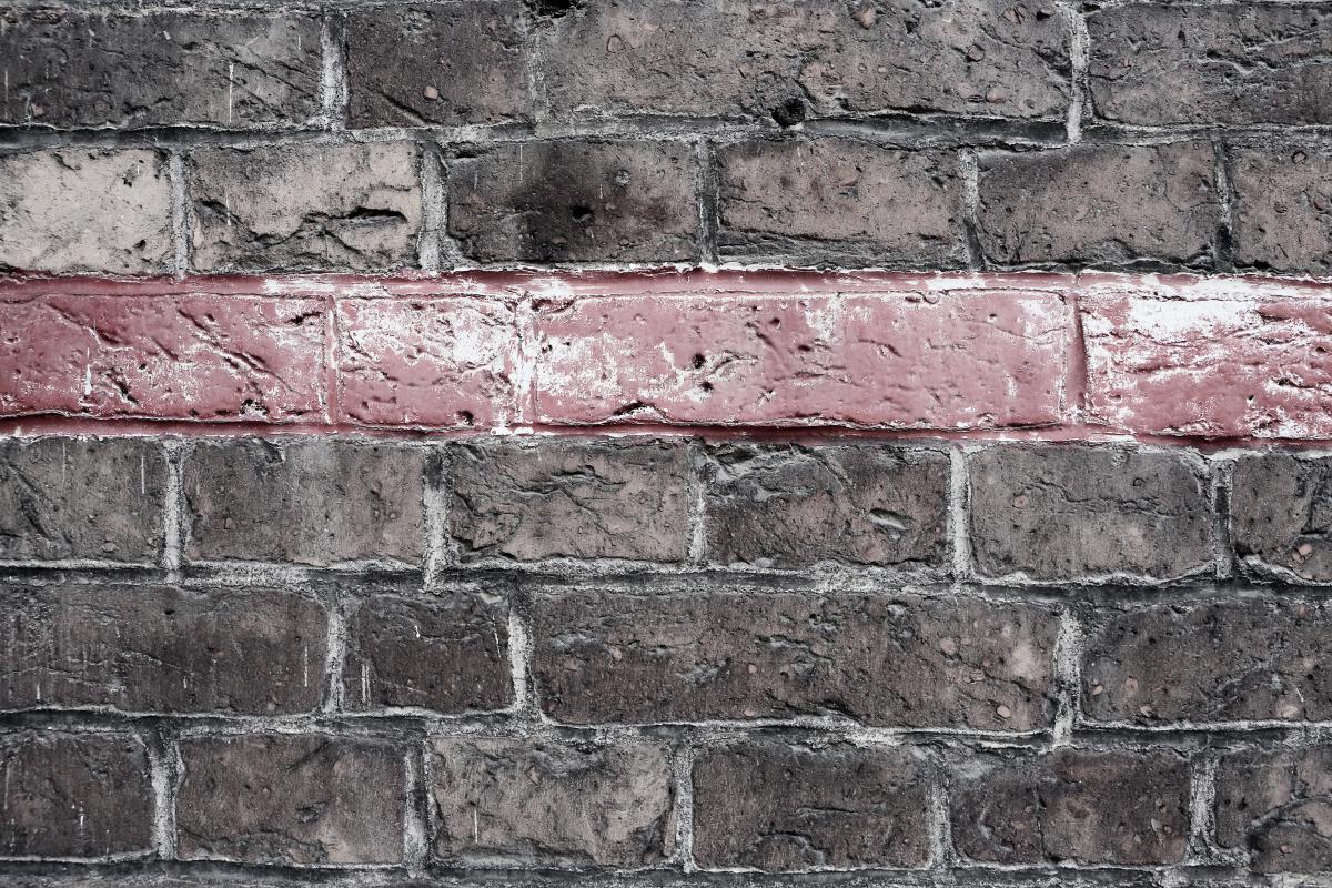 Brick Wall Ceramic #14089