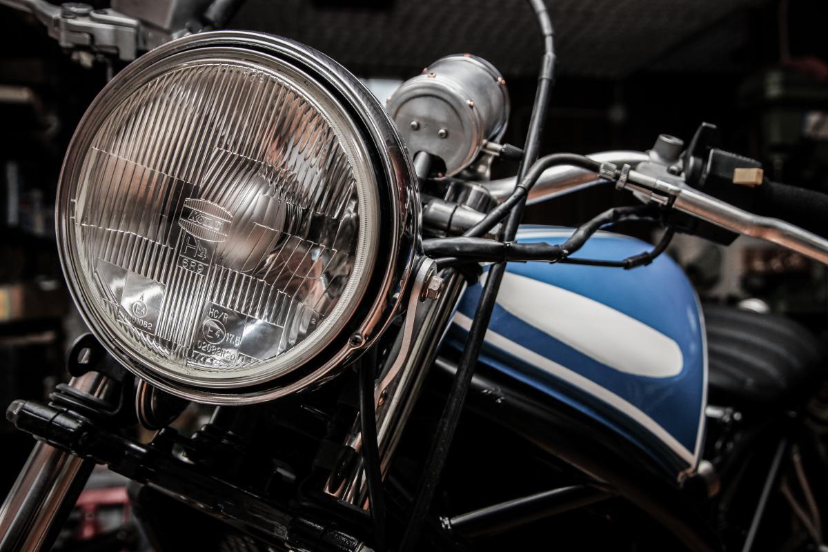 Headlight Car Brass #14916