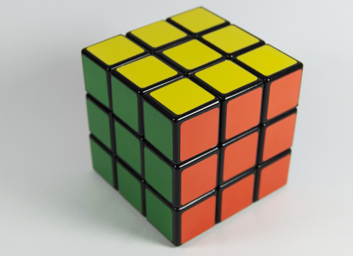 Cube Block Box