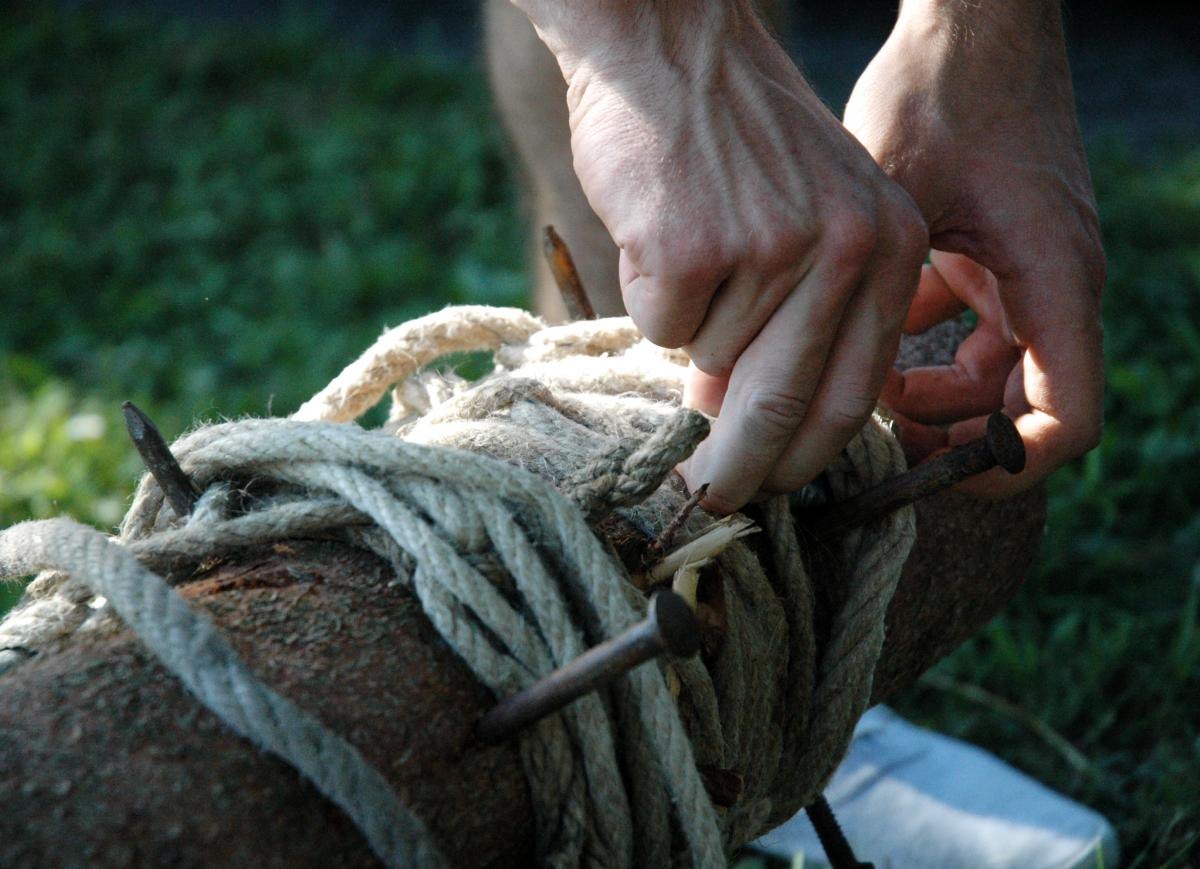 Rope Line Knot #157474