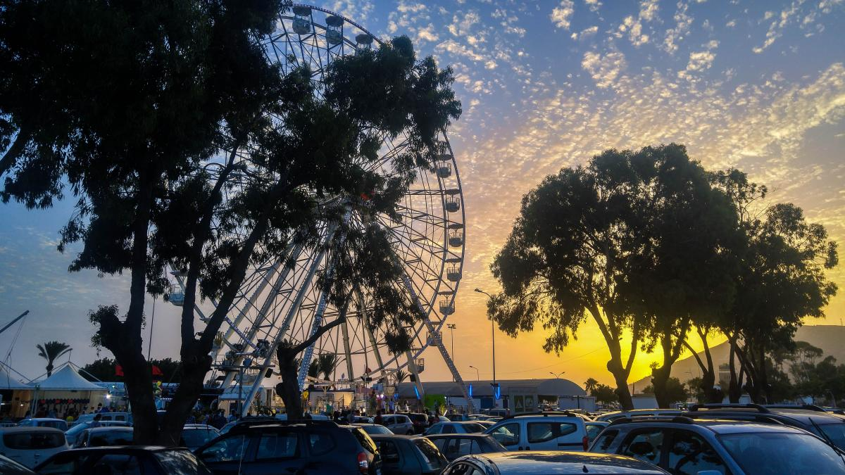 Park Tract Ferris wheel