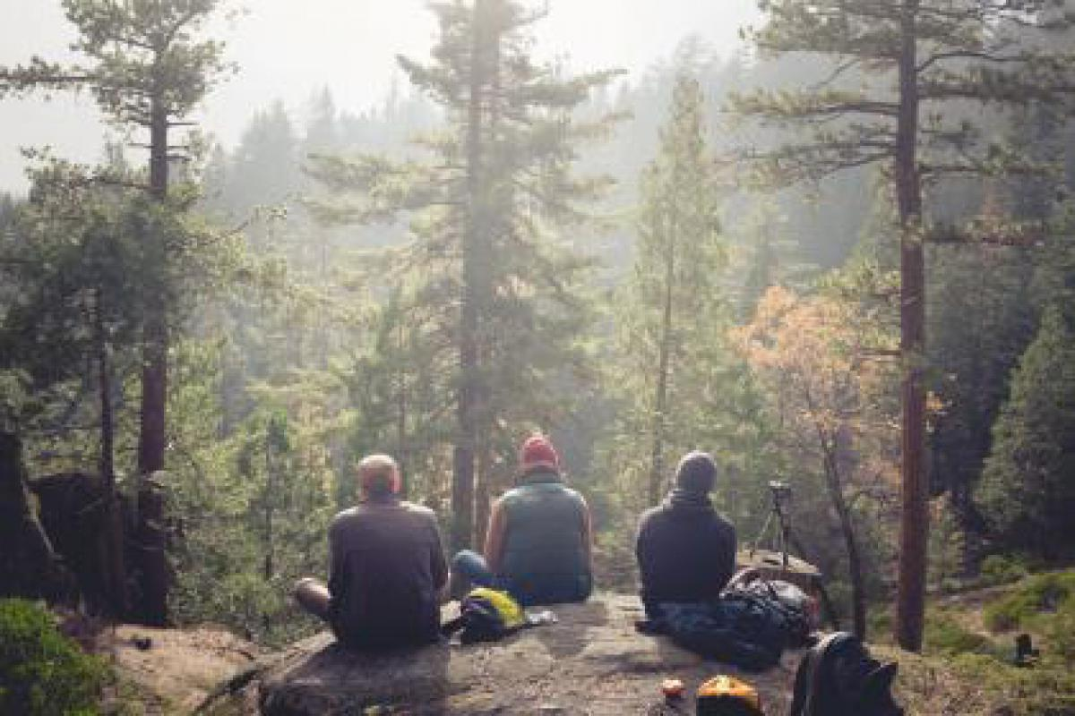 People camping hiking  #16614