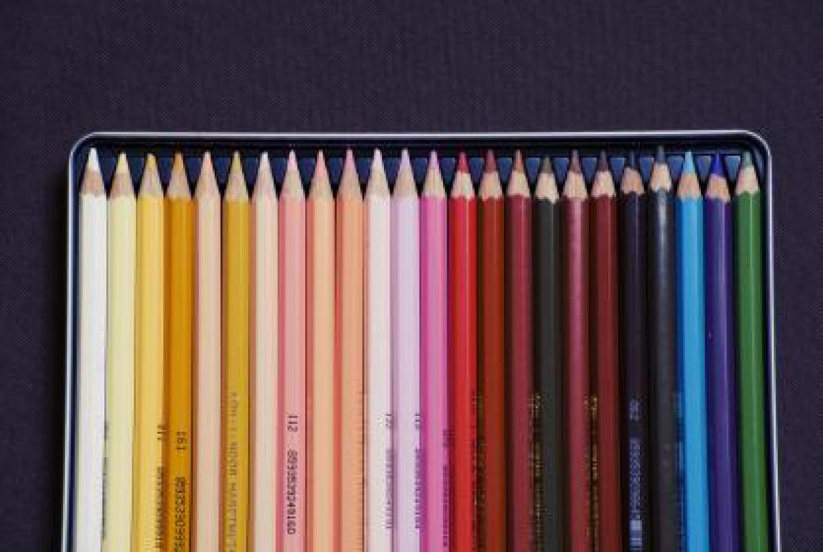 Pencils colors colours  #16616