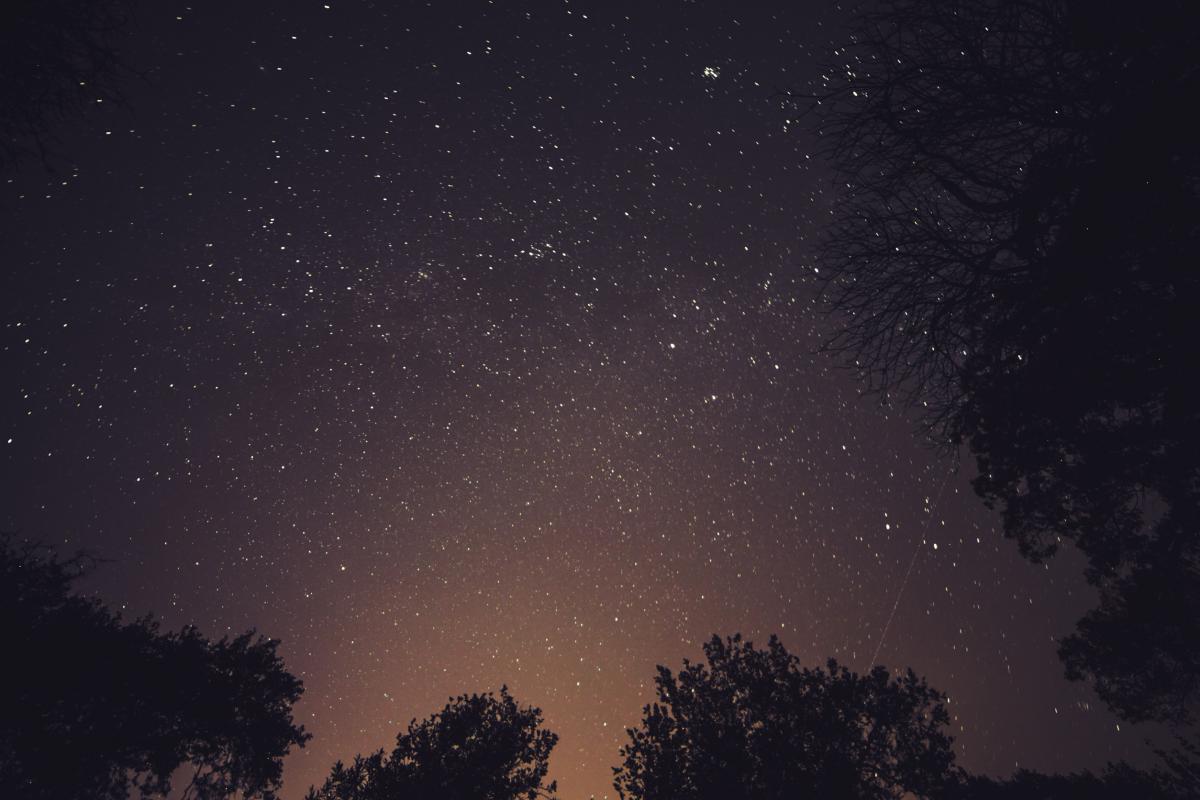 Stars night sky  #16784