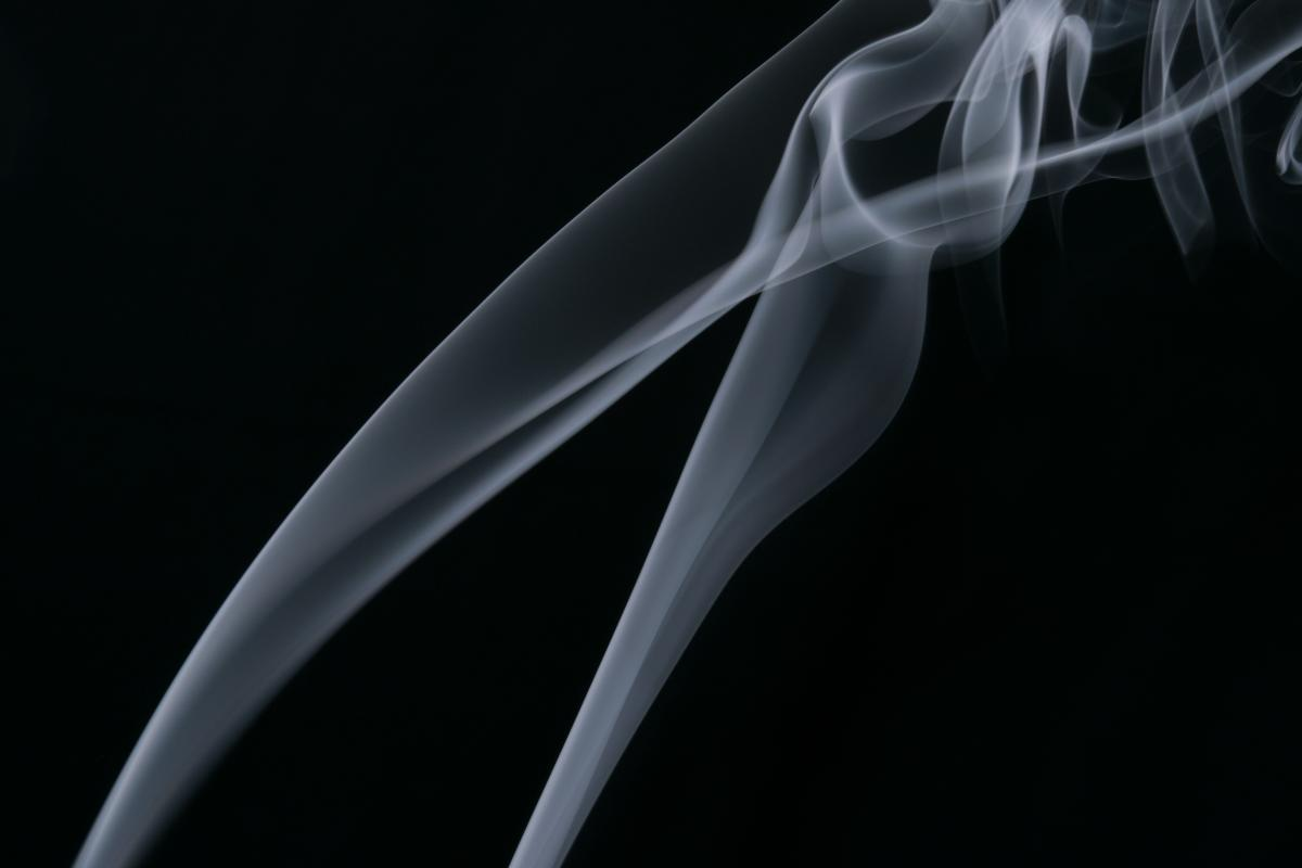 Smoke Cigarette Motion