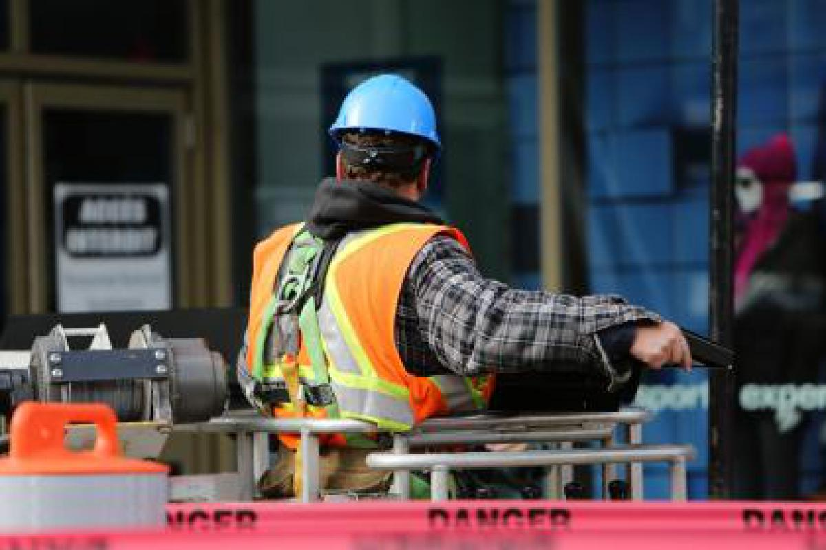 construction zone worker
