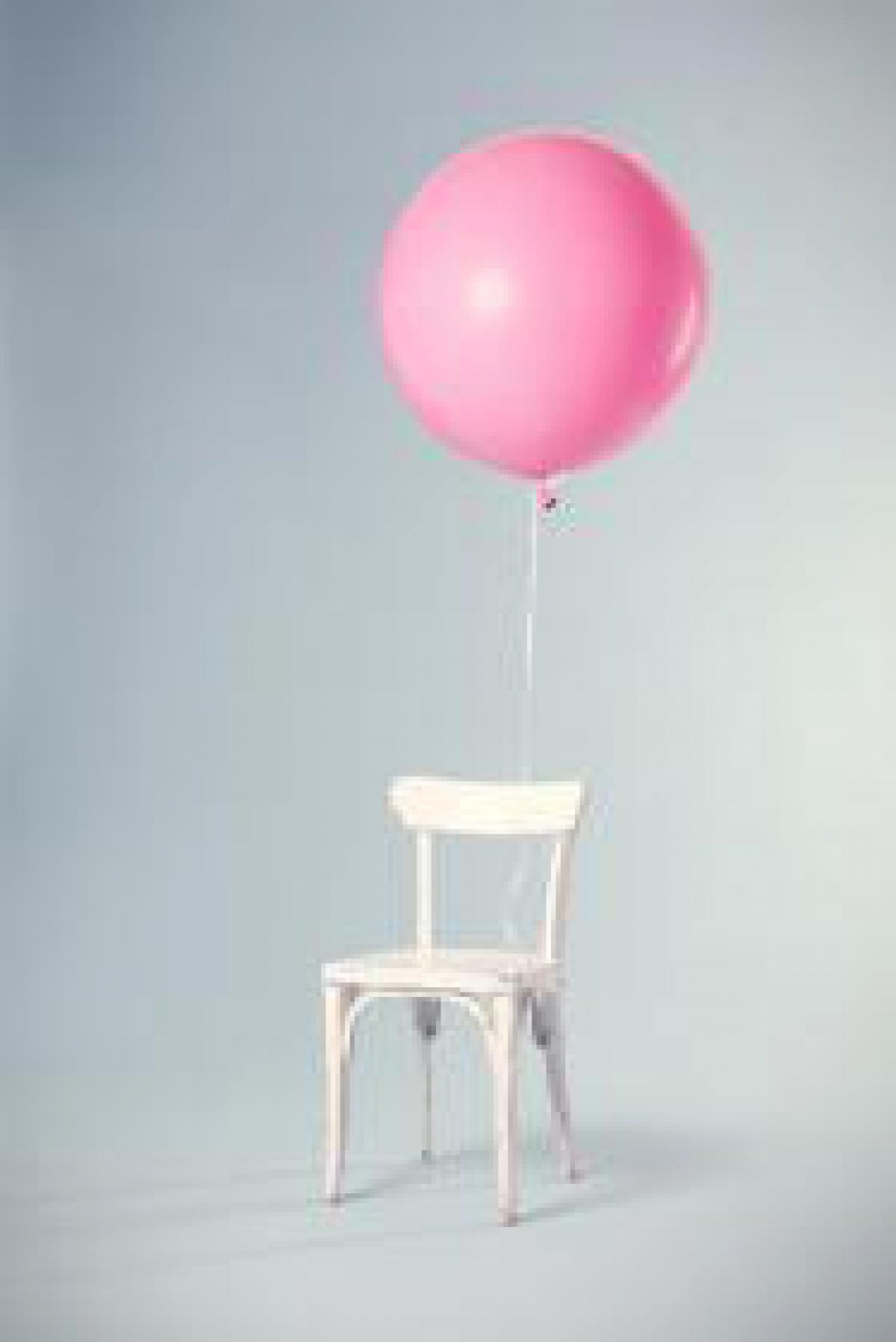 Pink Balloon Chair
