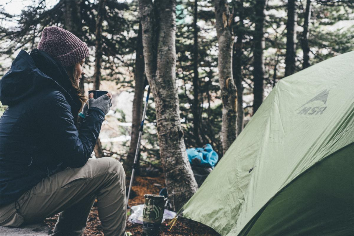 Camping tent nature  #17078