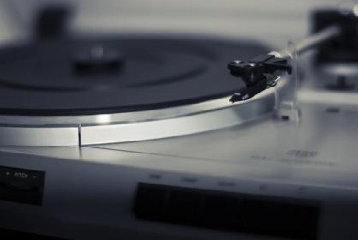 Turntable record vinyl  #17506