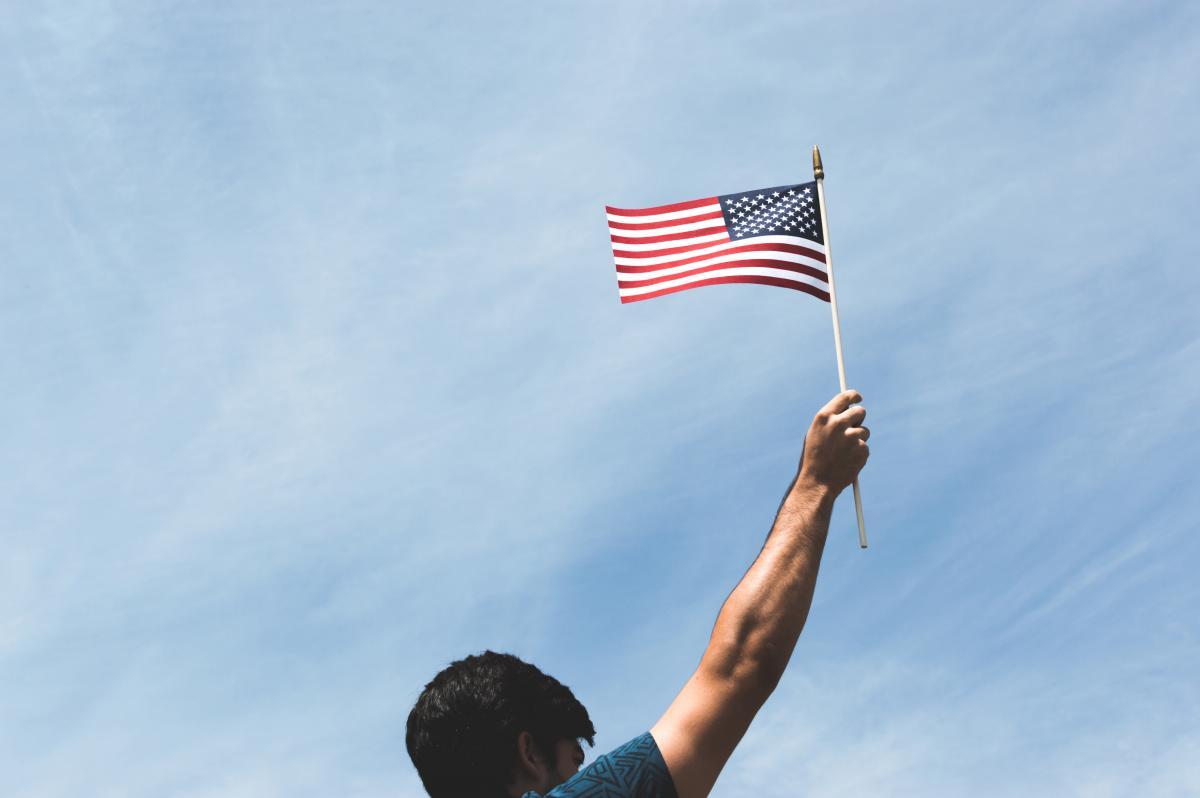 American flag patriot  #17585