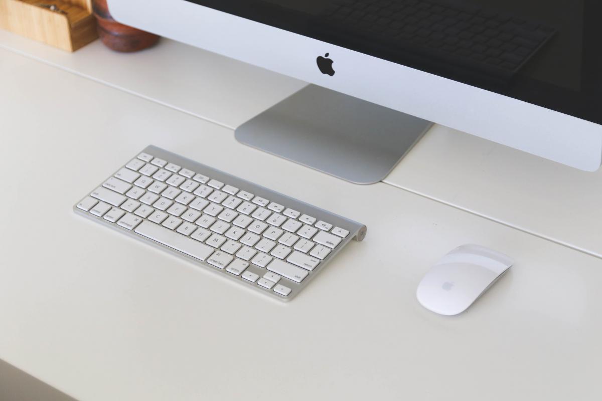 Mac computer desktop  #17715