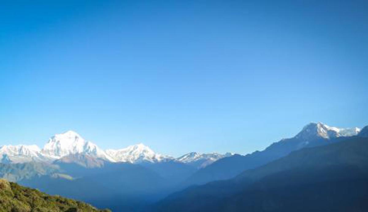 Annapurna Mountain Range Nepal mountains  #17903