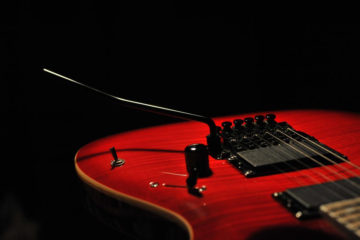Electric guitar music rock  #17950