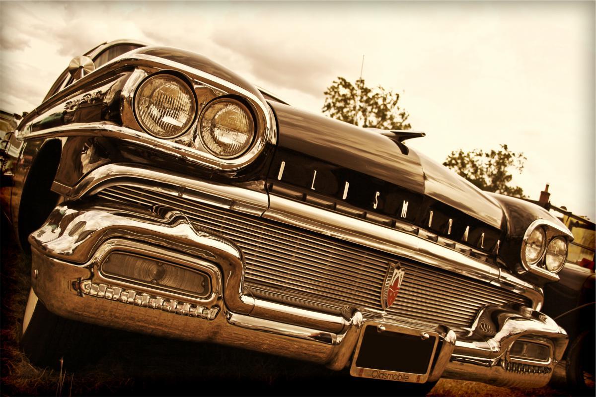 Oldsmobile classic car  #18007