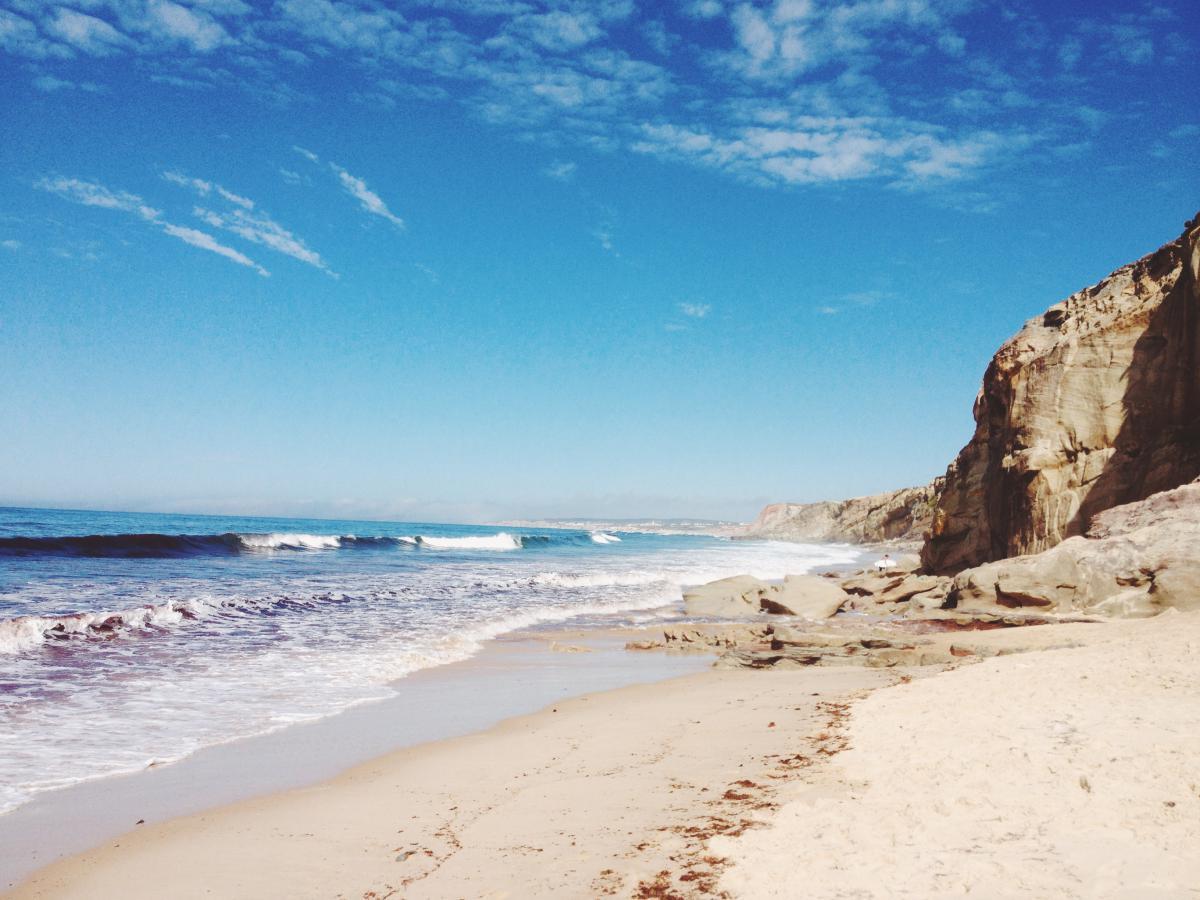 beach sand waves