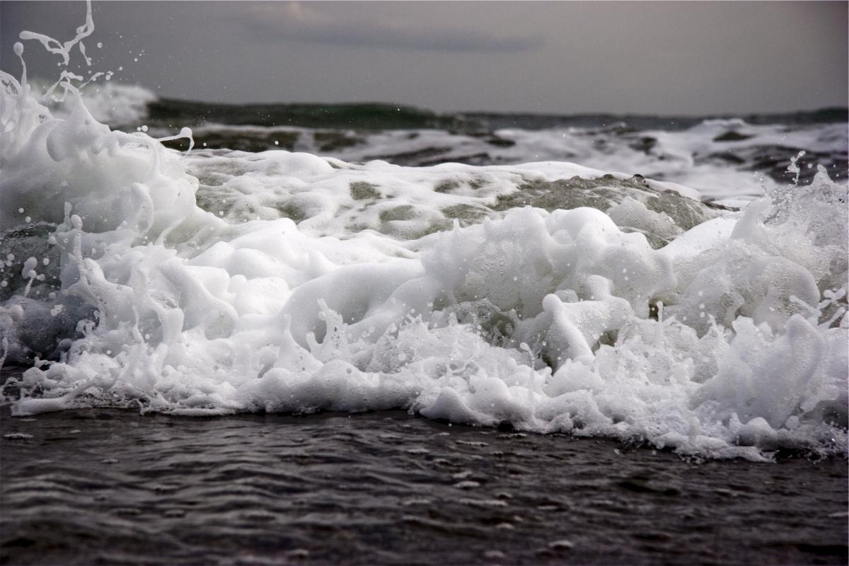 water waves ocean
