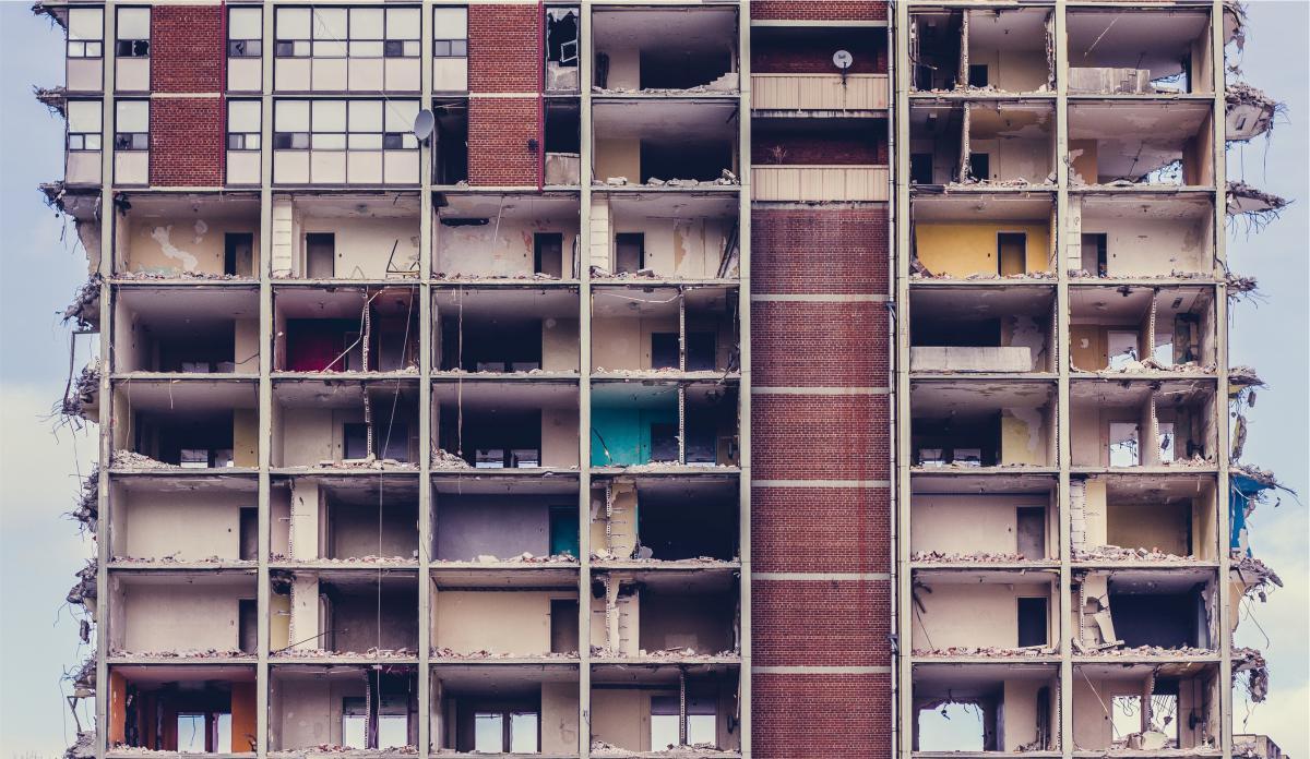 building demolition old