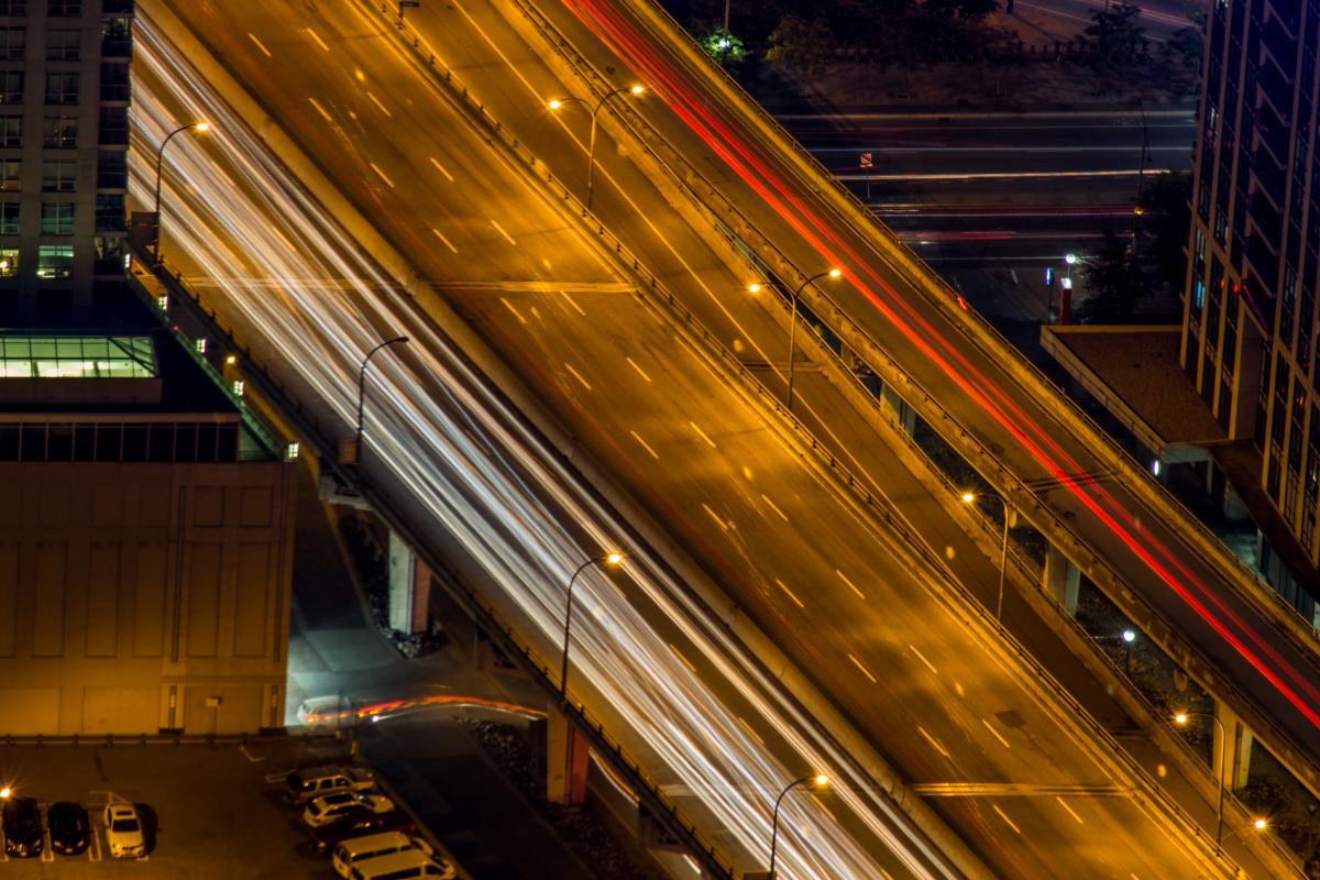 Motion Night Speed