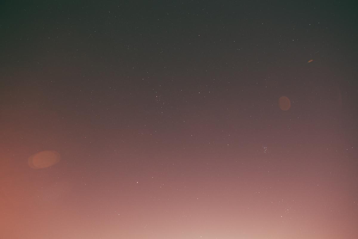 Stars sky night  #19113