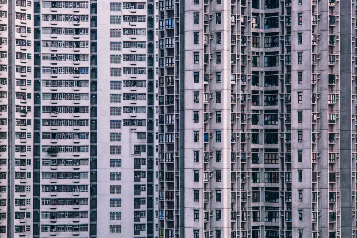 Building apartment high rise  #19277