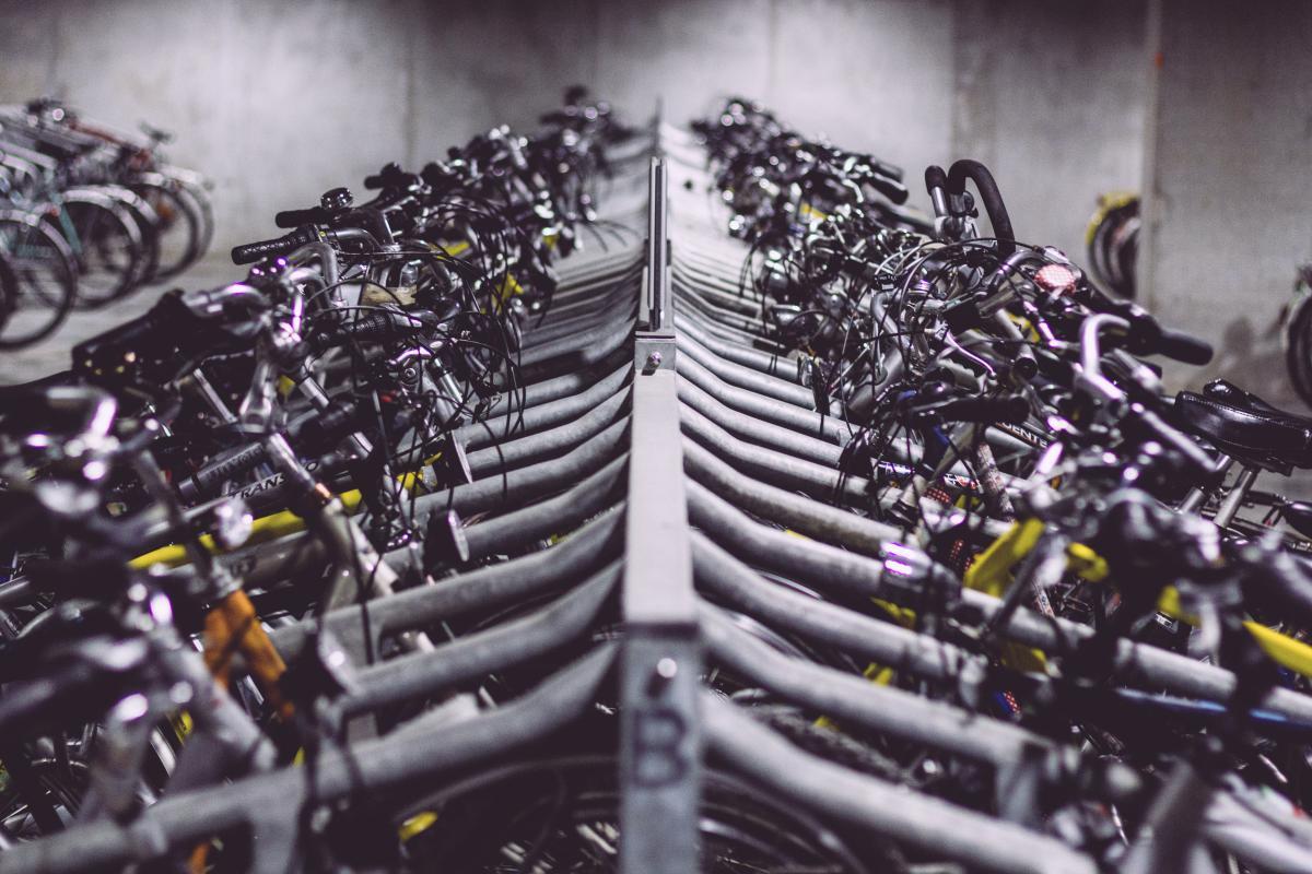 bikes bicycles bike racks