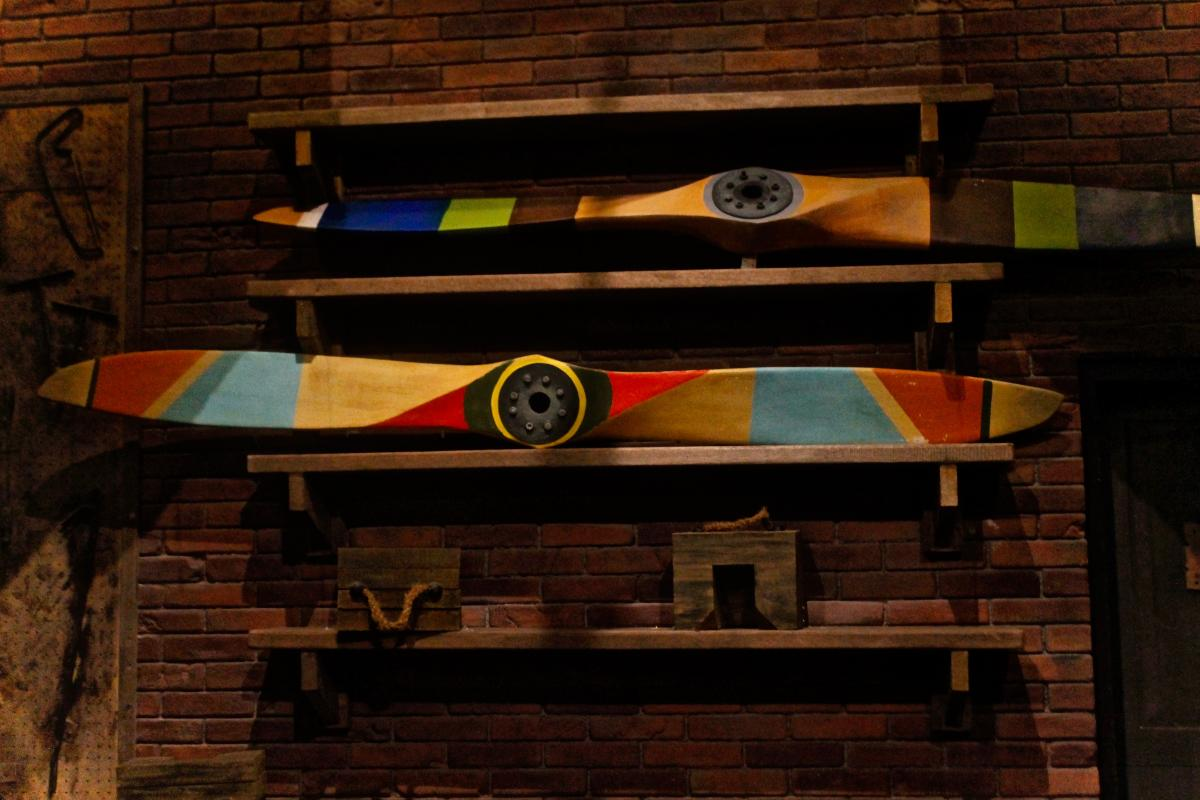 Beam Wooden Old