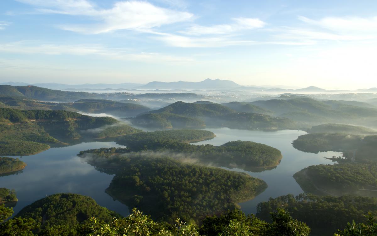 Dalat Vietnam landscape