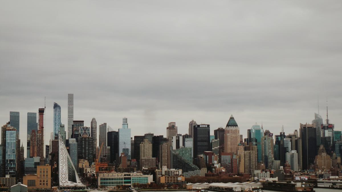 Manhattan City Skyline #203384